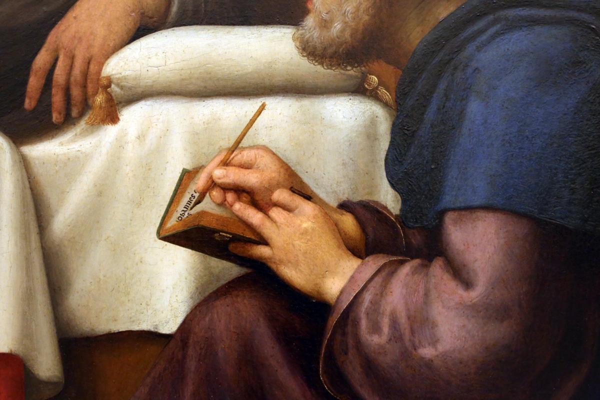Giuliano bugiardini, nascita del battista, 1517-18, 11 - Sailko - Modena (MO)