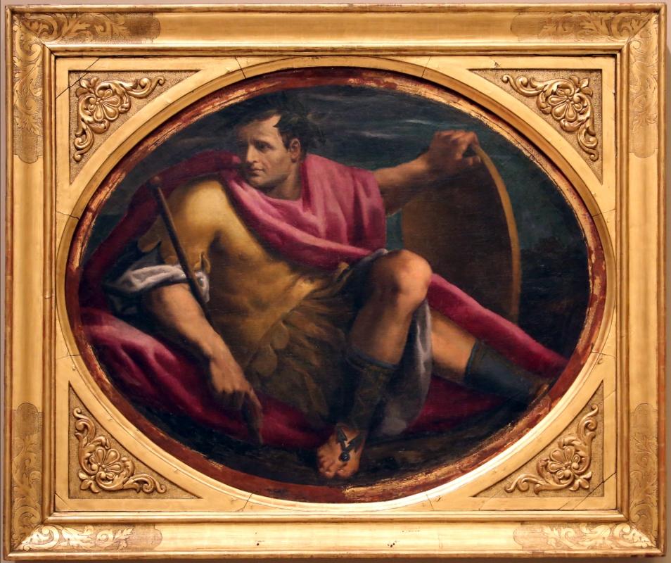 Giulio belloni (attr.), imperatore con scudo, 1591-93 - Sailko - Modena (MO)