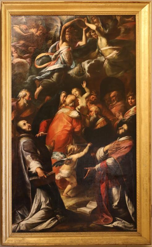 Giulio cesare procaccini, circoncisione di gesù coi santi Ignazio e Francesco, 1616, 00 - Sailko - Modena (MO)