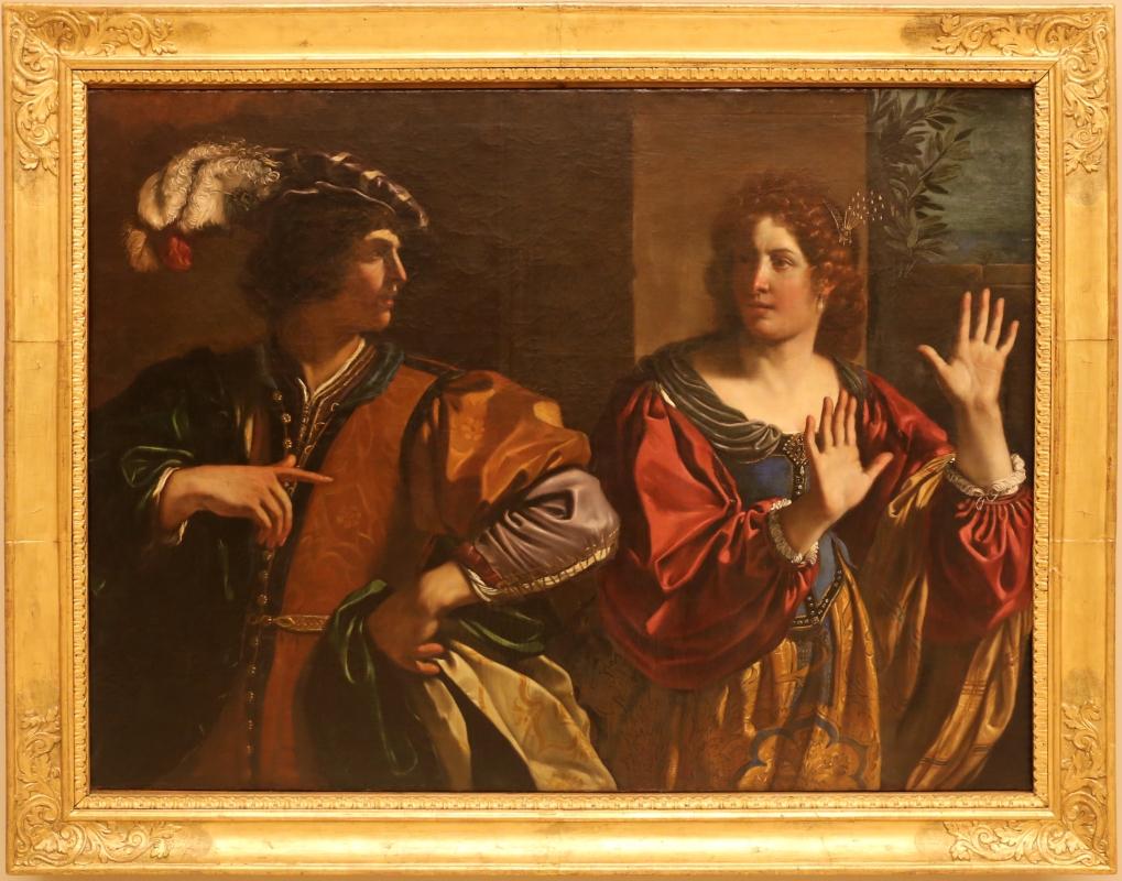 Guercino, amnon scaccia la sorella tamar, 1627-28 - Sailko - Modena (MO)