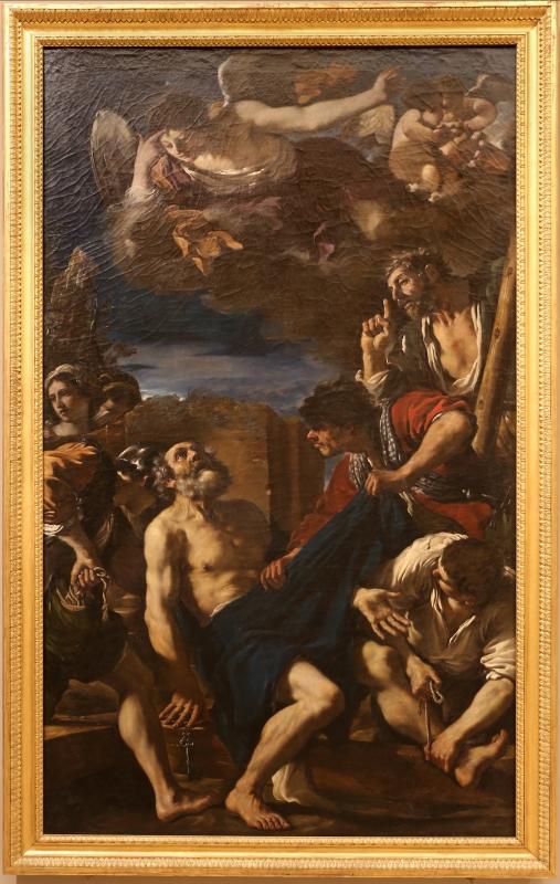 Guercino, martirio di san pietro, 1618, 01 - Sailko - Modena (MO)