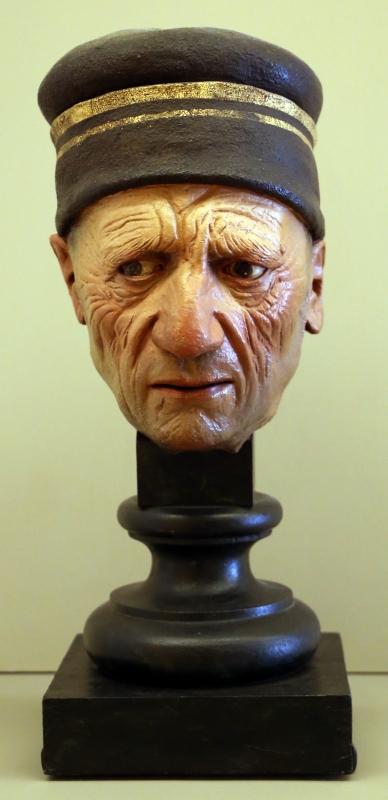 Guido mazzoni, testa di vecchio, 1480-85 ca. 01 - Sailko - Modena (MO)