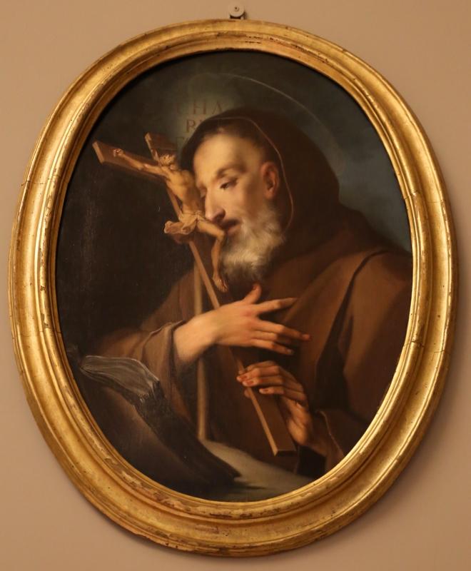Ignazio stella, san francesco abraccia il crocifisso, 1730-40 ca - Sailko - Modena (MO)