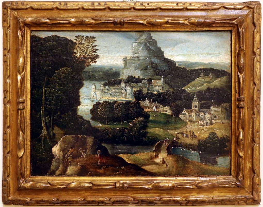 Il civetta, paesaggio con san girolamo, 1540-50 ca - Sailko - Modena (MO)