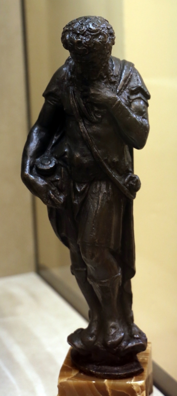 Jacopo sansovino (attr.), figura virile in meditazione - Sailko - Modena (MO)