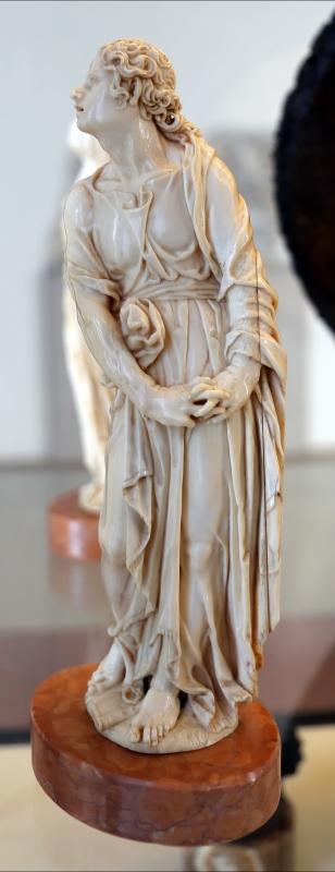 Justus glesker, san giovanni dolente, avorio, 1650-75 ca - Sailko - Modena (MO)