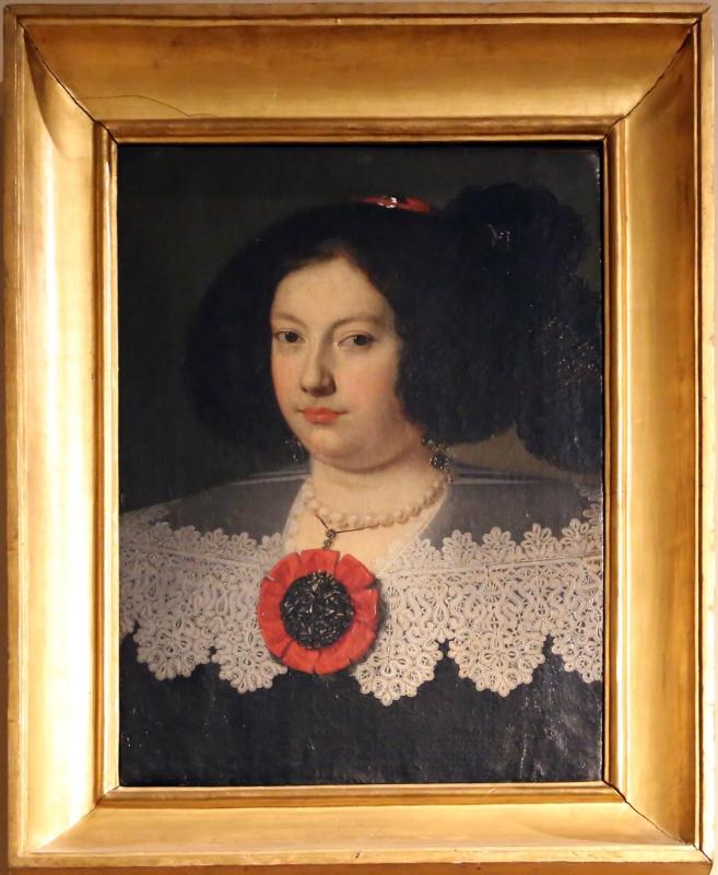 Justus suttermans (attr.), ritratto di maria farnese d'este, 1653-59 - Sailko - Modena (MO)