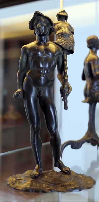 L'antico, figura virile con trofeo e panoplia - Sailko - Modena (MO)