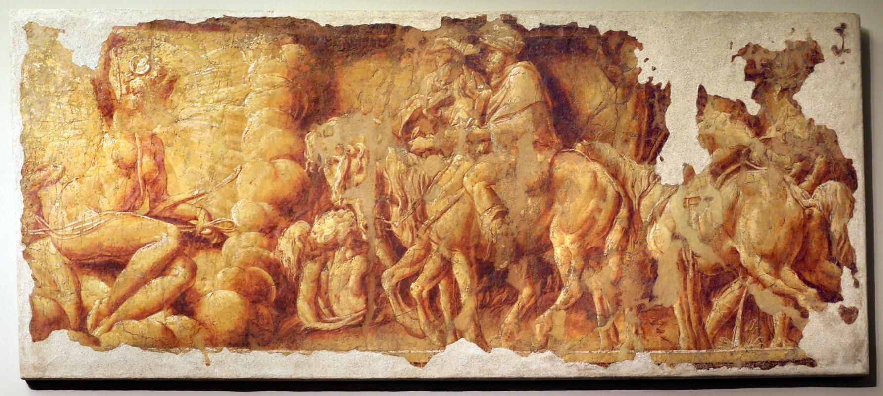 Leolio orsi, frammenti di affreschi dalla rocca di novellara, 1546 ca., omaggio a diana - Sailko - Modena (MO)
