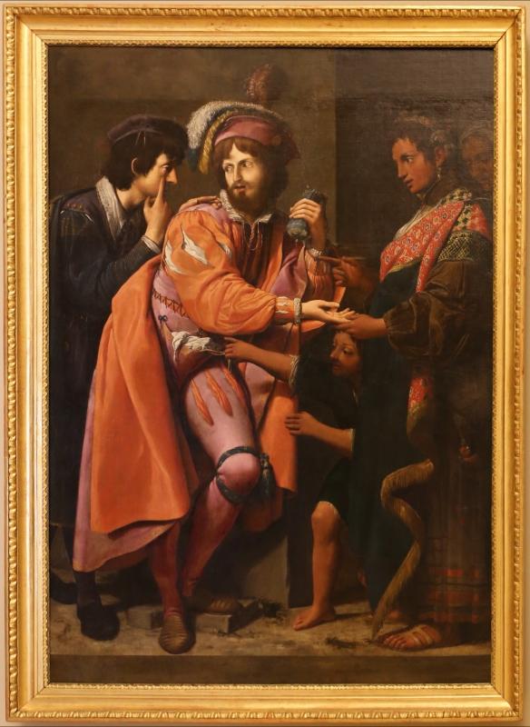 Leonello spada, la buona ventura, 1620 ca. 01 - Sailko - Modena (MO)