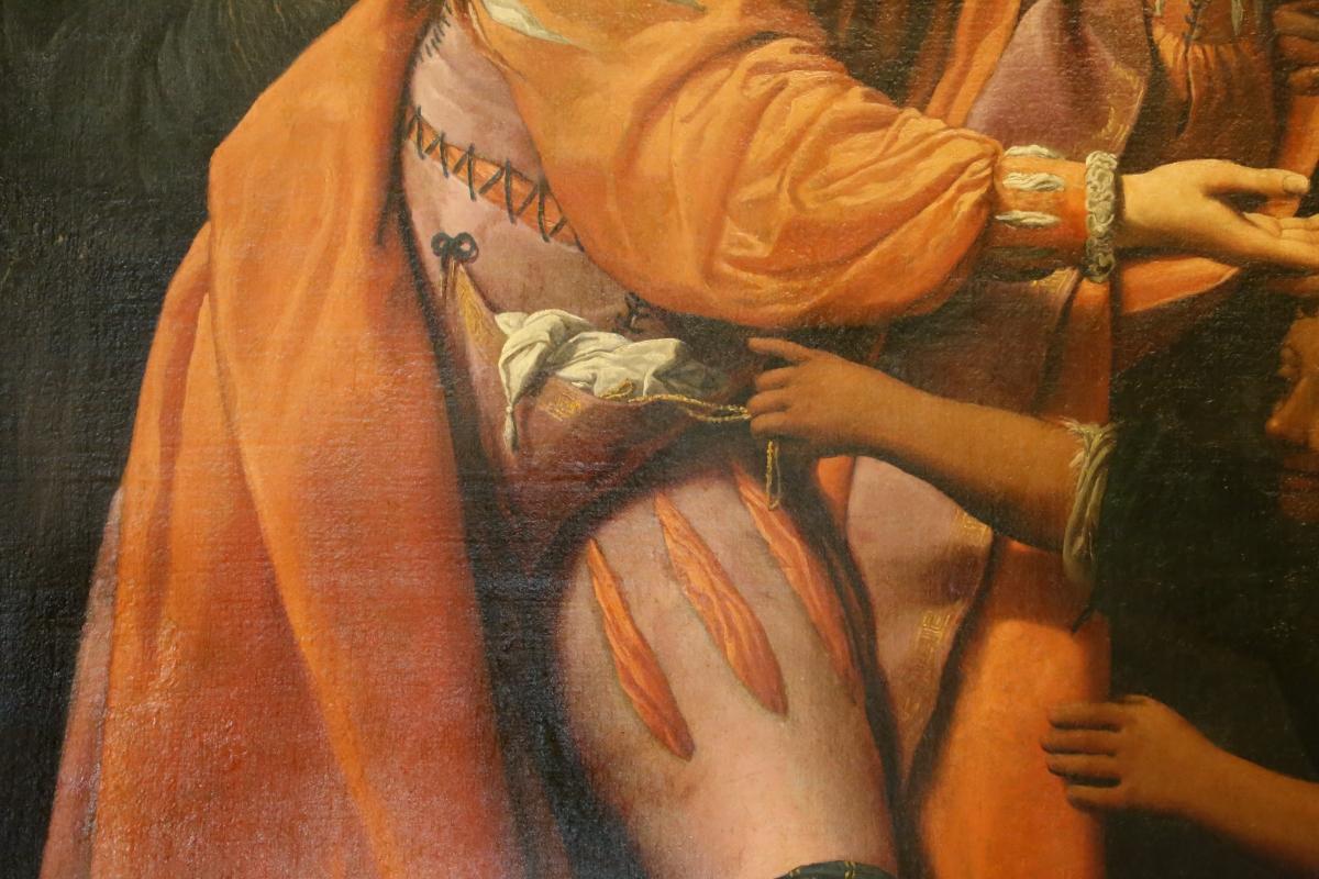 Leonello spada, la buona ventura, 1620 ca. 04 furto del borsello - Sailko - Modena (MO)