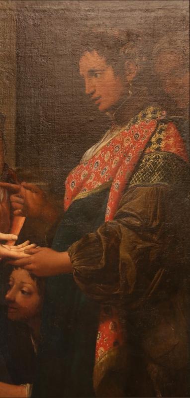 Leonello spada, la buona ventura, 1620 ca. 05 zingara - Sailko - Modena (MO)