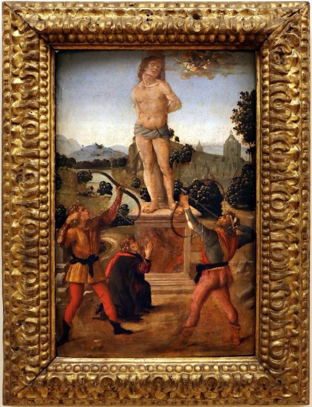 Lorenzo di credi, martirio di san sebastiano, 1480-90 ca - Sailko - Modena (MO)