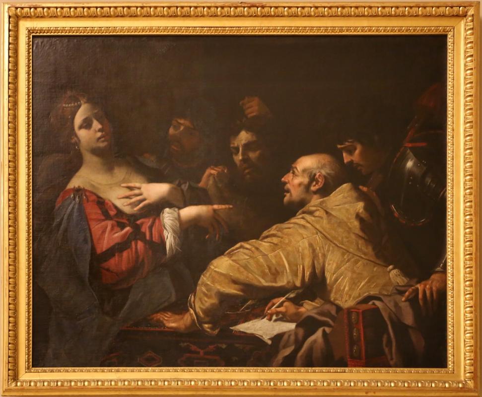 Luca ferrari, nerone davanti al corpo di agrippina, 1644-49 - Sailko - Modena (MO)