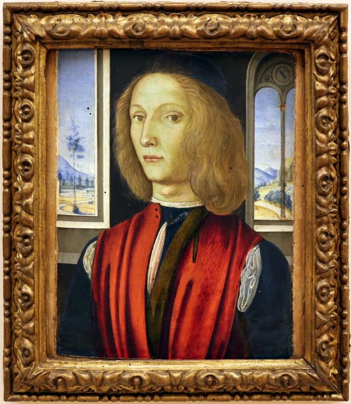 Maestro esiguo, ritratto di giovane, 1490-1510 ca - Sailko - Modena (MO)