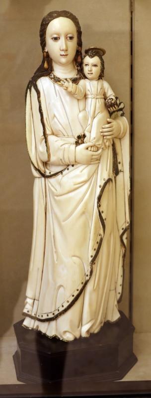 Manifattura spagnola, madonna col bambino in avoio, xvi secolo - Sailko - Modena (MO)
