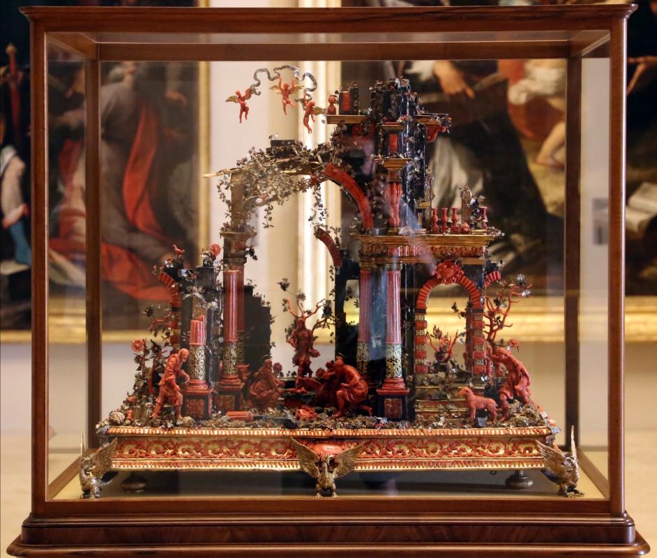 Manifattura trapanese, presepe in corallo, argento, legno e metallo dorato, xviii secolo, 05 - Sailko - Modena (MO)