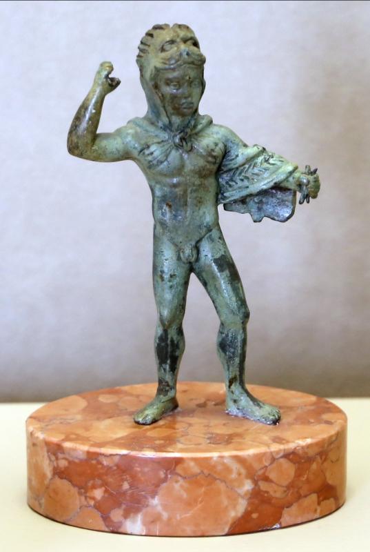 Manifatura etrusco-italica, heracle, IV-III secolo ac - Sailko - Modena (MO)