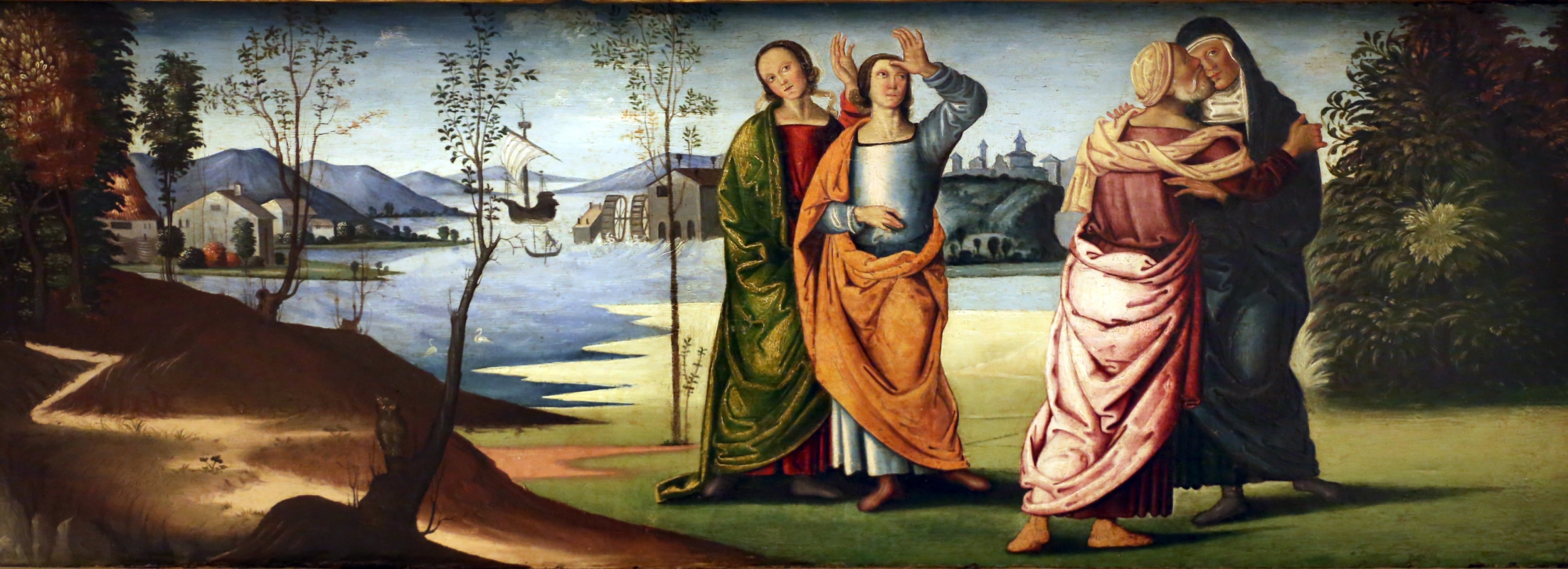 Marco meloni (attr.), storie di abramo, 1504, 04 - Sailko - Modena (MO)