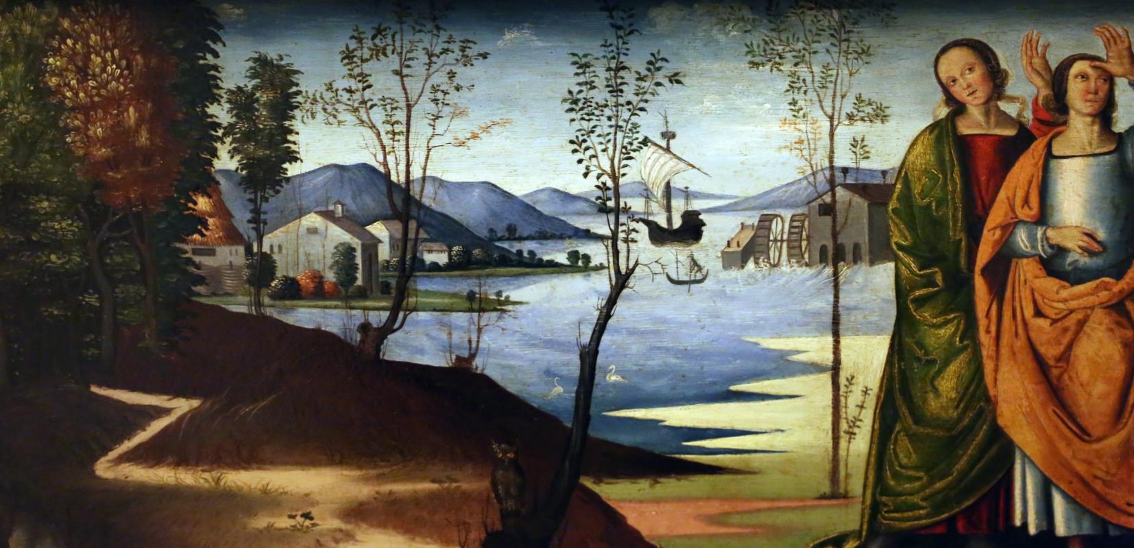 Marco meloni (attr.), storie di abramo, 1504, 05 - Sailko - Modena (MO)