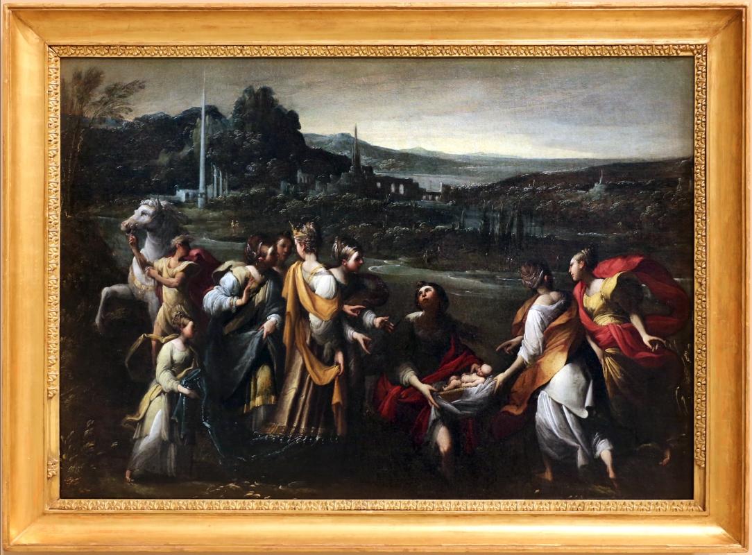 Mastelletta, ritrovamento di mosè, 1618 ca. 01 - Sailko - Modena (MO)