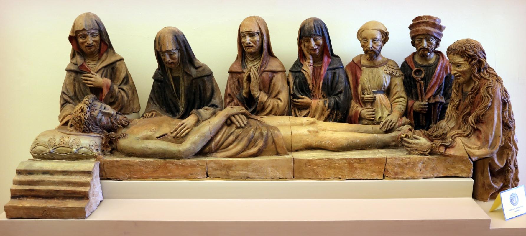 Michele da firenze, compianto sul cristo morto, 1443-48, 01 - Sailko - Modena (MO)