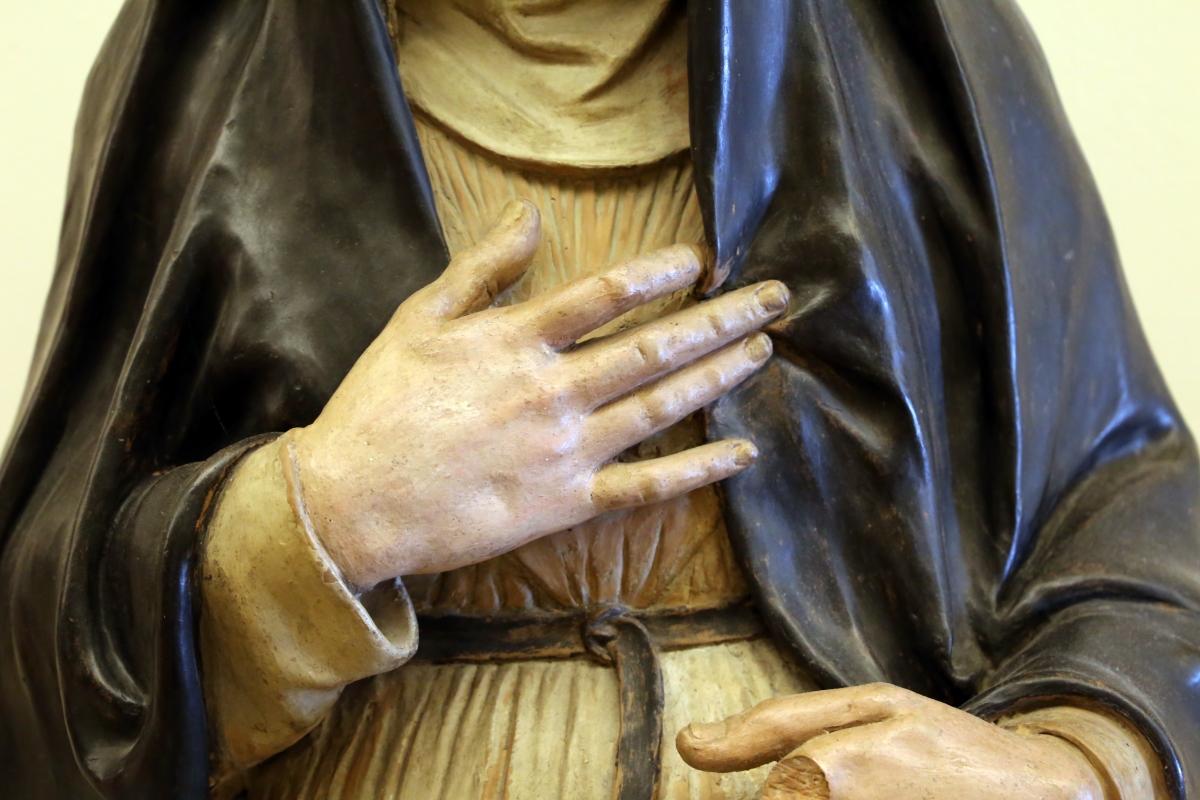 Niccolò dell'arca (attr.), santa monaca, 1480 ca. 02 - Sailko - Modena (MO)