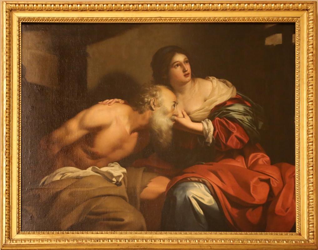 Nicolas régnier, carità romana, 1638 - Sailko - Modena (MO)
