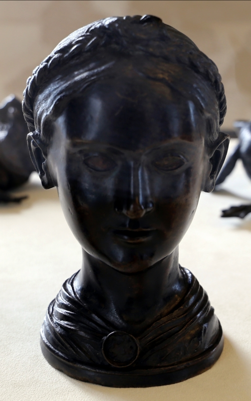 Nicolò roccatagliata, testa di giovane donna e d'uomo, 02 - Sailko - Modena (MO)