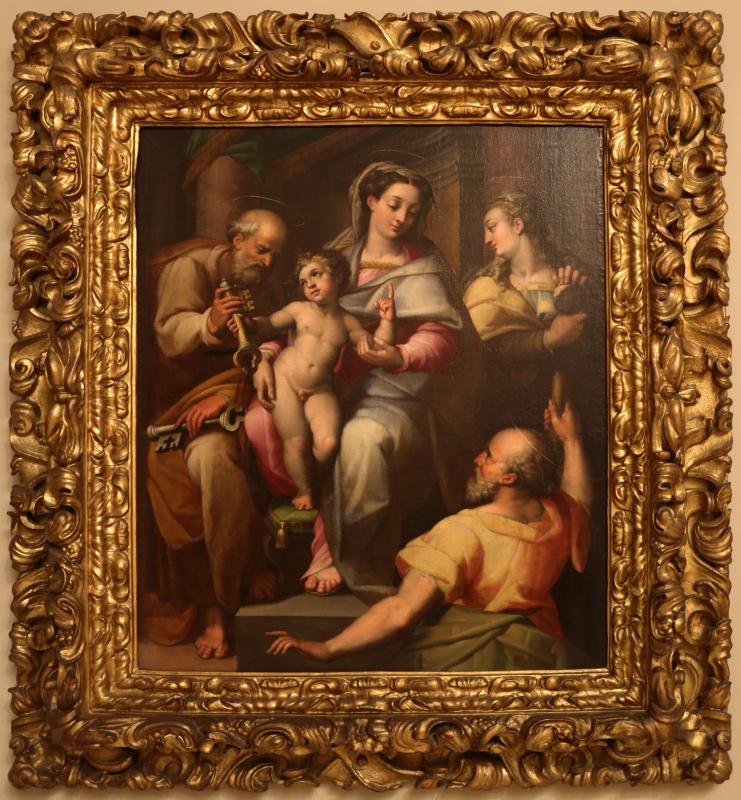 Orazio samacchini, sacra famiglia coi ss. pietro e maria maddalena, 01 - Sailko - Modena (MO)