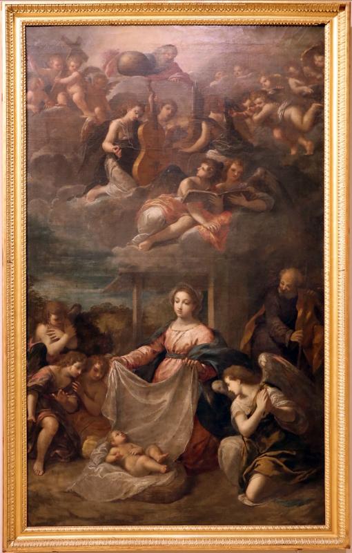 Scarsellino, adorazione del bambino, 1615-20 ca - Sailko - Modena (MO)