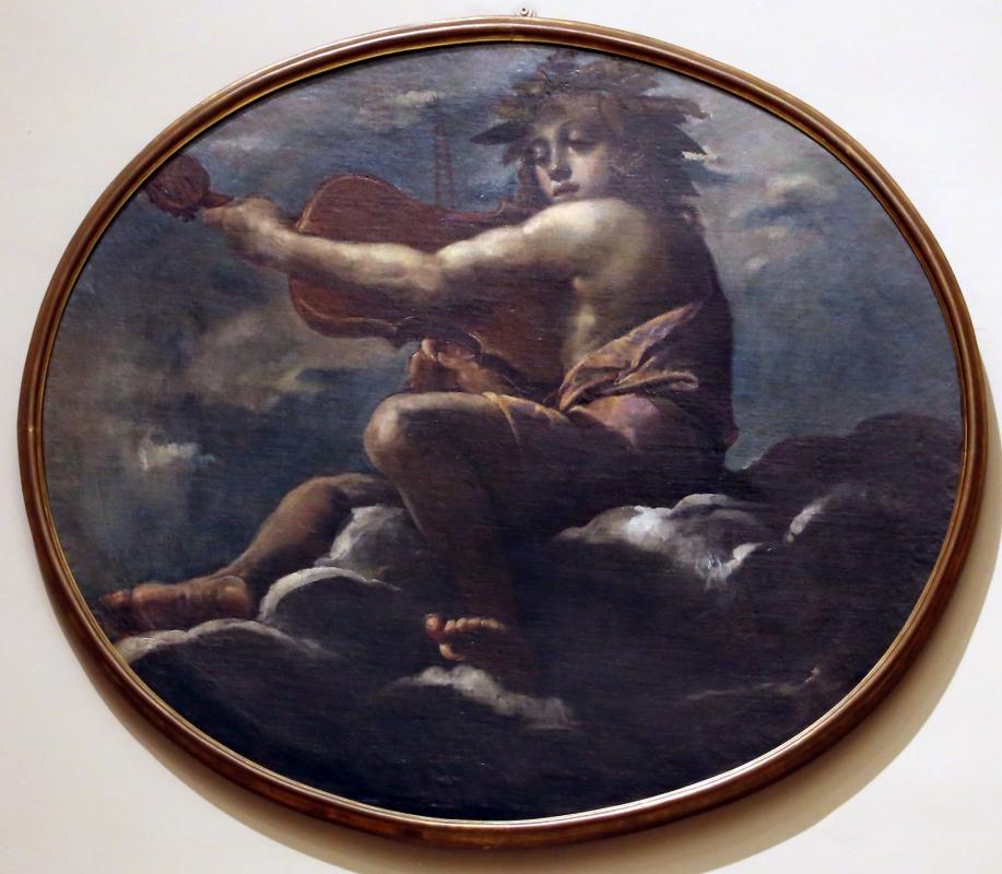 Scarsellino, apollo musico, 1591-93 - Sailko - Modena (MO)