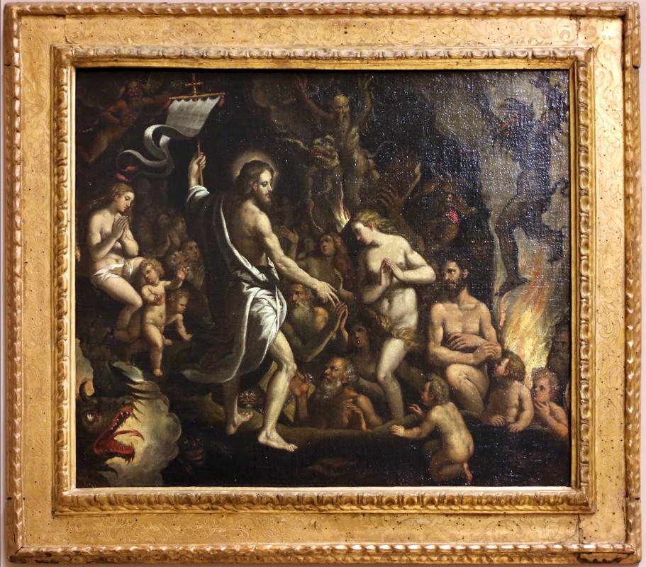 Scarsellino, discesa di cristo al limbo, 1590-95 - Sailko - Modena (MO)