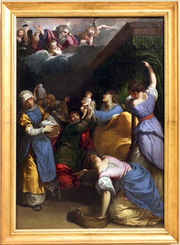 Scarsellino, nascita della vergine, 1607 - Sailko - Modena (MO)