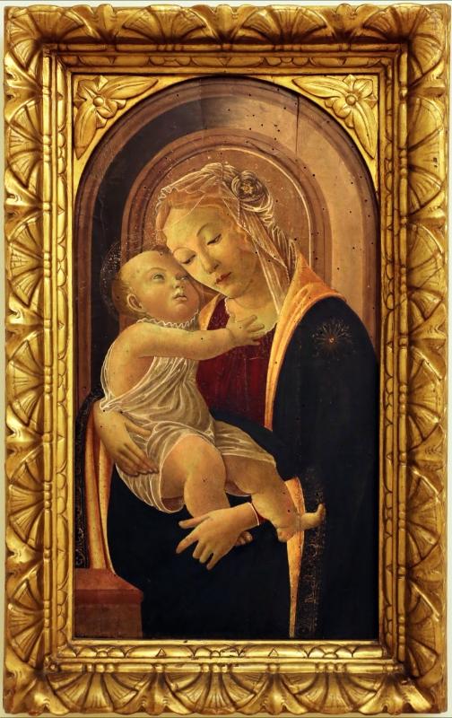 Seguace del botticelli, madonna col bambino, 1475-1500 ca - Sailko - Modena (MO)