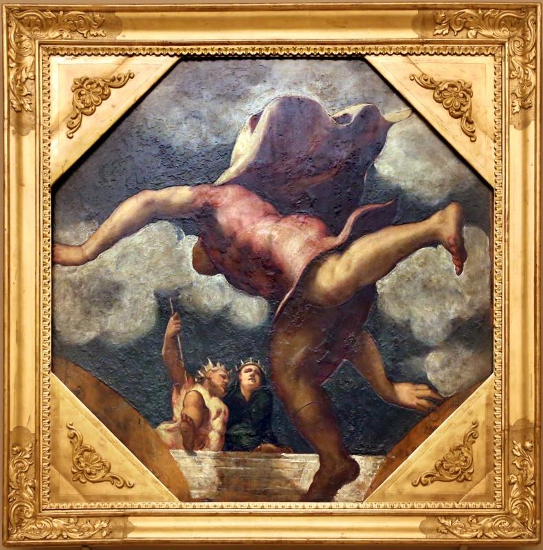 Tintoretto, tavole per un soffitto a palazzo pisani in san paterniano a venezia, 1541-42, corsa di ippomene - Sailko - Modena (MO)