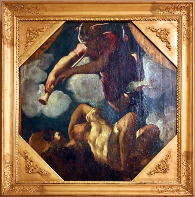 Tintoretto, tavole per un soffitto a palazzo pisani in san paterniano a venezia, 1541-42, mecurio addormenta argo - Sailko - Modena (MO)