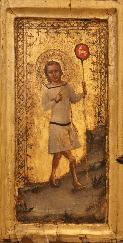 Tommaso barisini da modena, madonna col bambino, santi e scene della vita di cristo, 1345-55 ca. 02 cristo bambino - Sailko - Modena (MO)