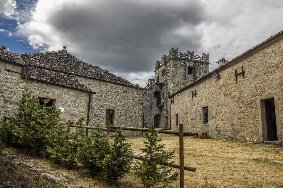 L'interno della Rocca di Sestola - Angelo nastri nacchio - Sestola (MO)