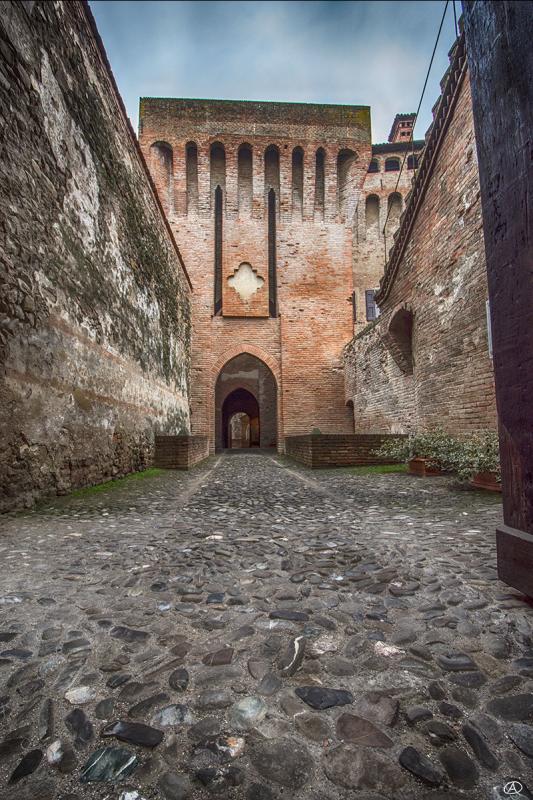 Ingresso della Rocca di Vignola - Quart1984 - Vignola (MO)