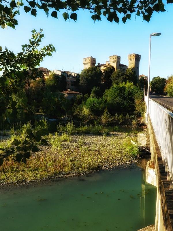 20170914225809-01 la Rocca e il fiume Panaro - Massimo F. Dondi - Vignola (MO)