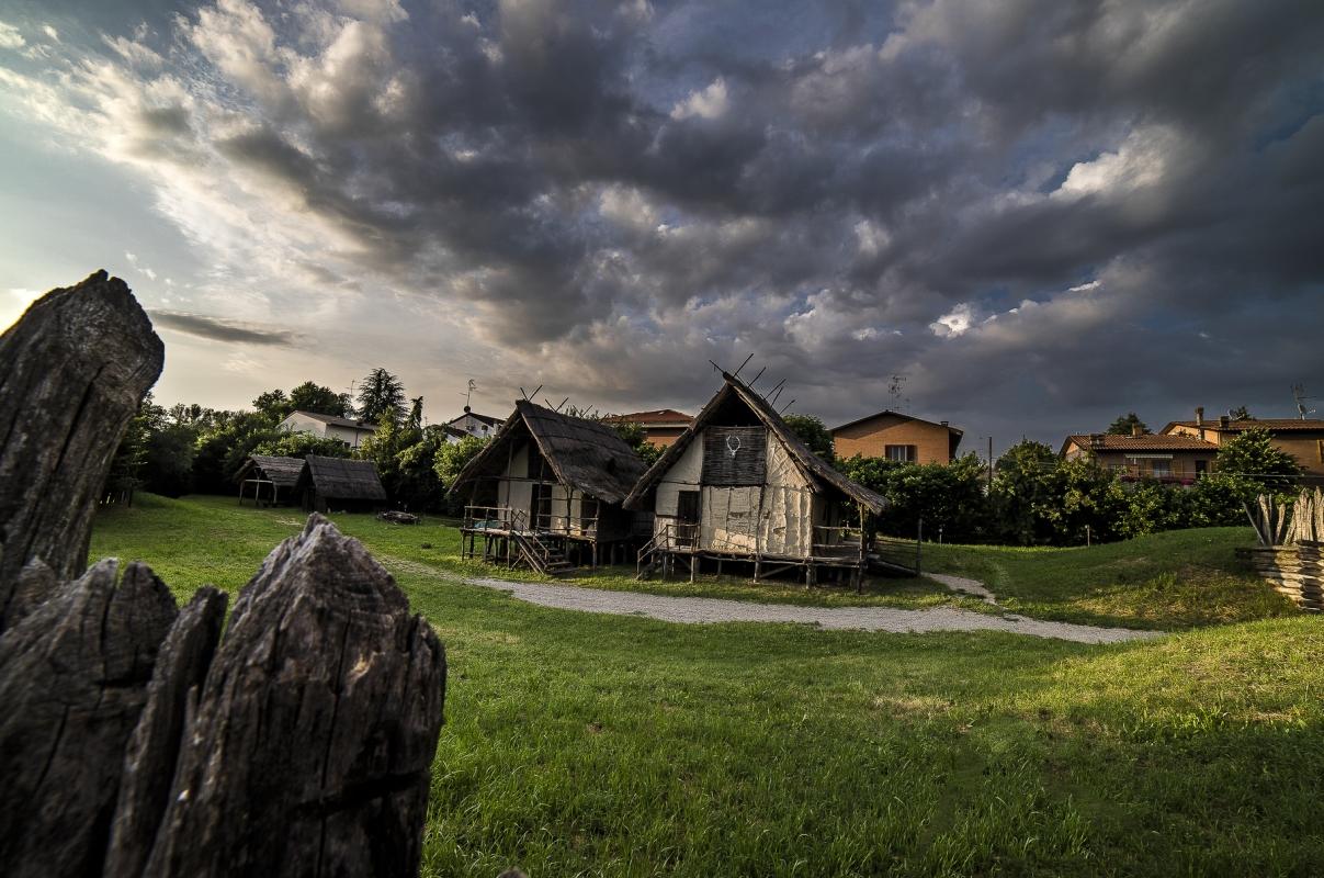 L'interno del Parco archeologico di Montale - Angelo nastri nacchio - Castelnuovo Rangone (MO)