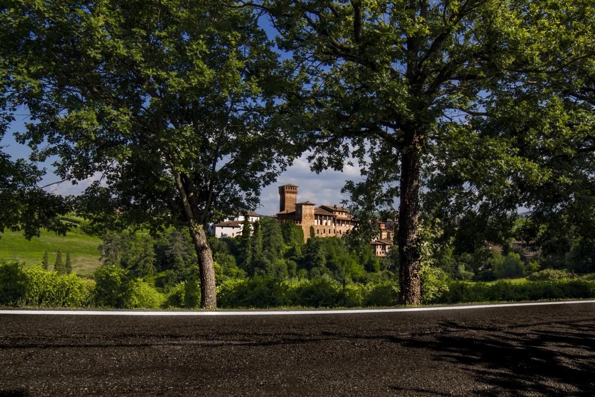 Una cornice naturale per il Castello di Levizzano - Luca Nacchio - Castelvetro di Modena (MO)