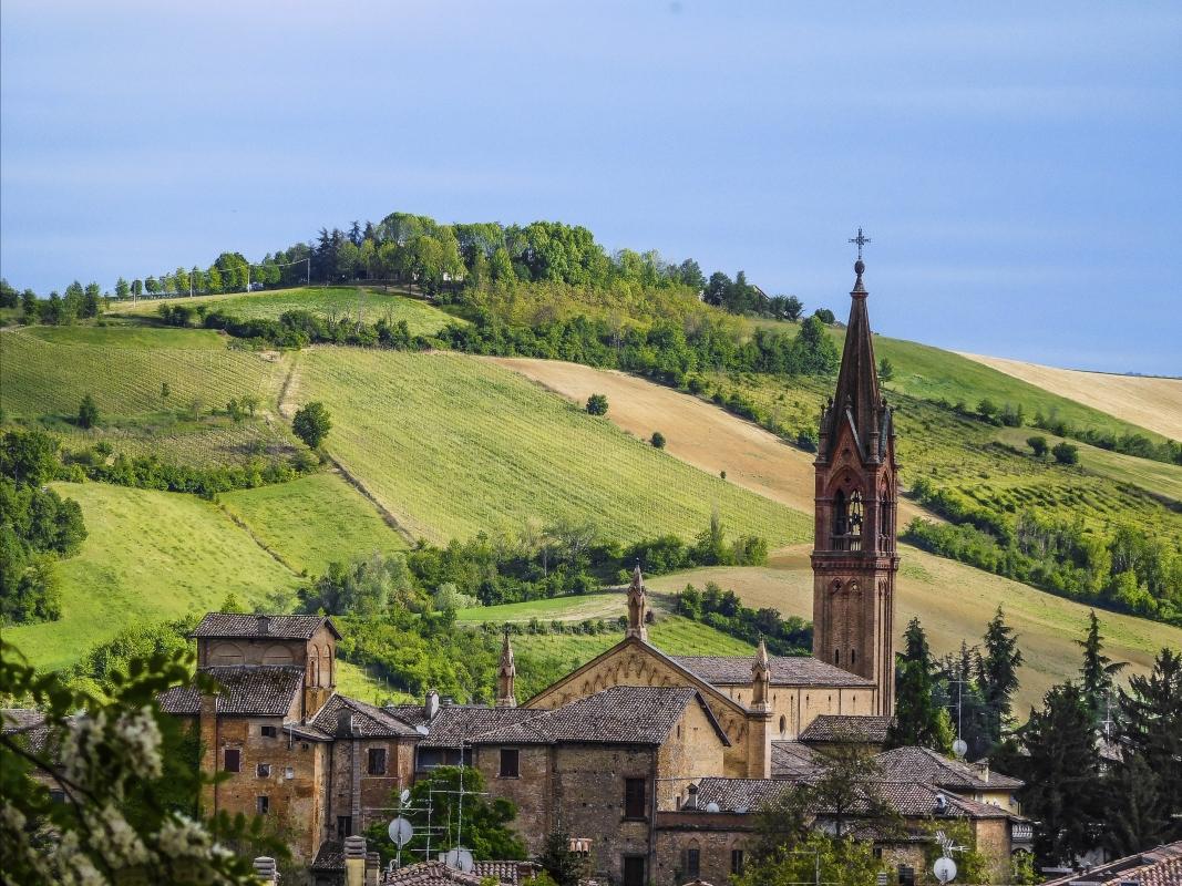 Il borgo di Castelvetro dipinto di primavera - Luca Nacchio - Castelvetro di Modena (MO)