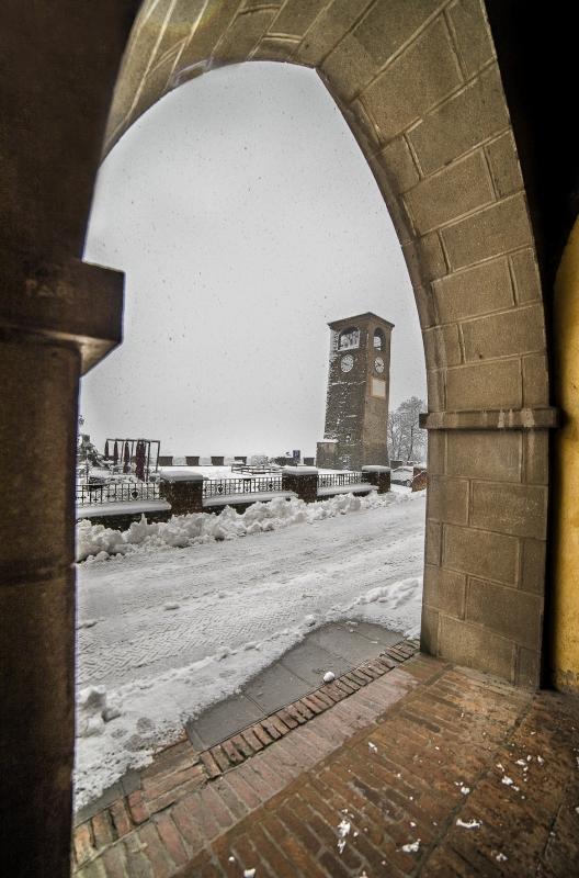 La neve, rende tutto ancora più bello - Angelo nastri nacchio - Castelvetro di Modena (MO)