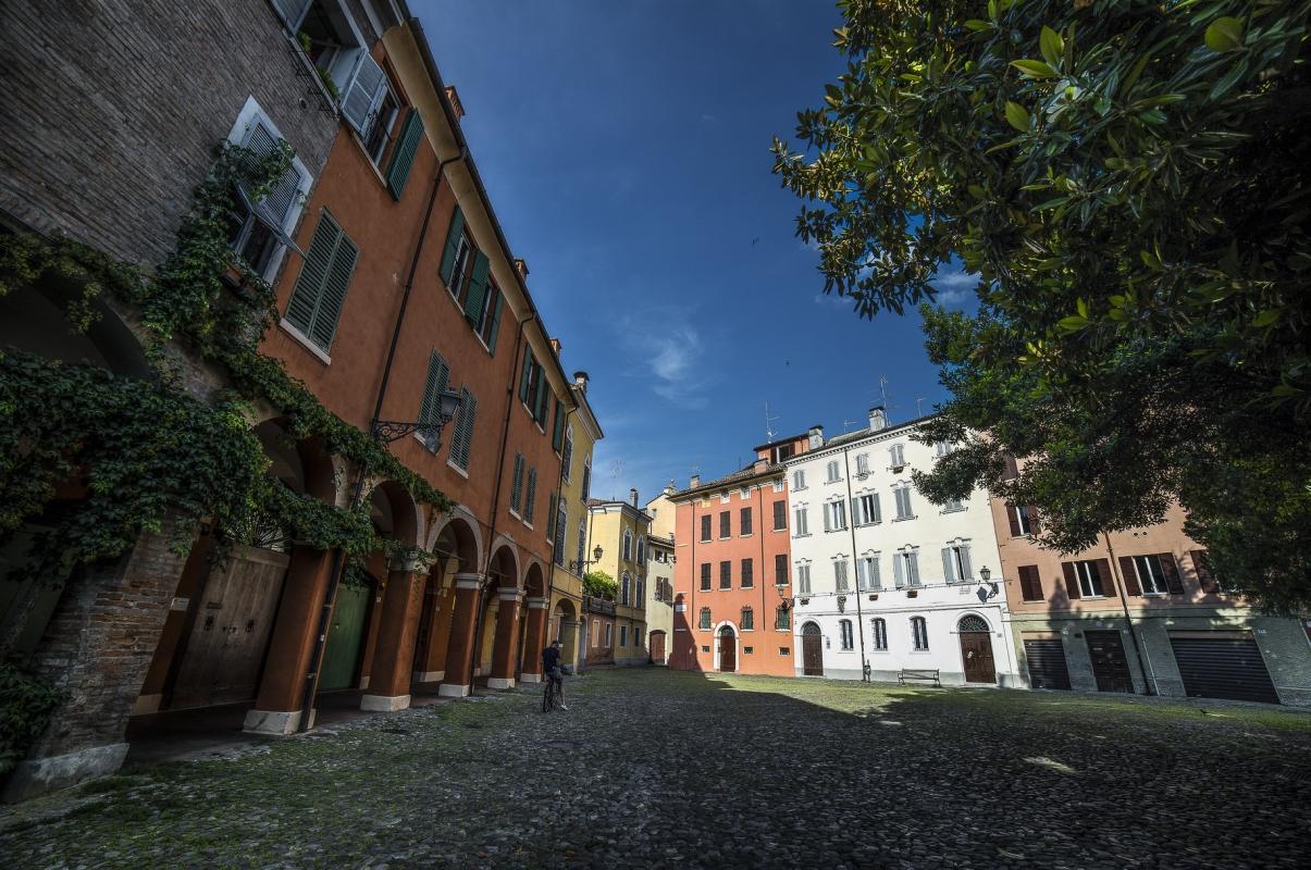 Piazza della Pomposa (parte 2) - Angelo nastri nacchio - Modena (MO)