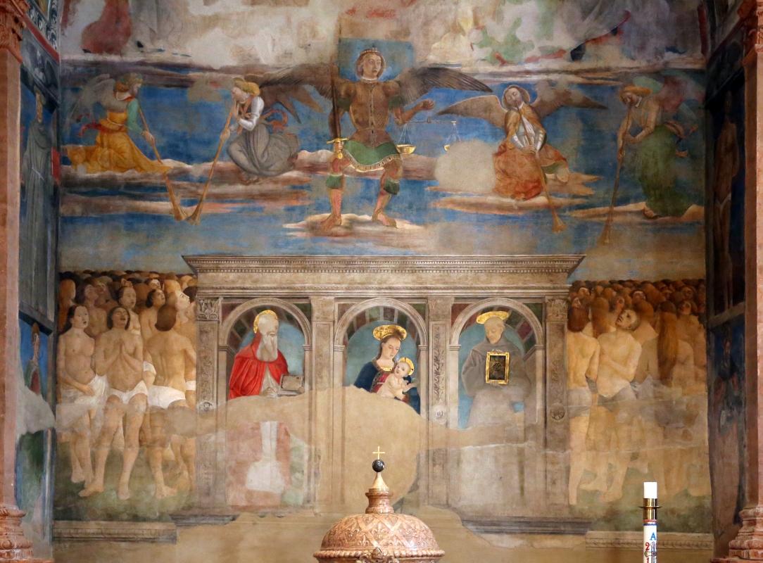 Artisti di scuola modenese, giudizio finale, finto polittico, profeti e santi, xv secolo, 04 - Sailko - Modena (MO)