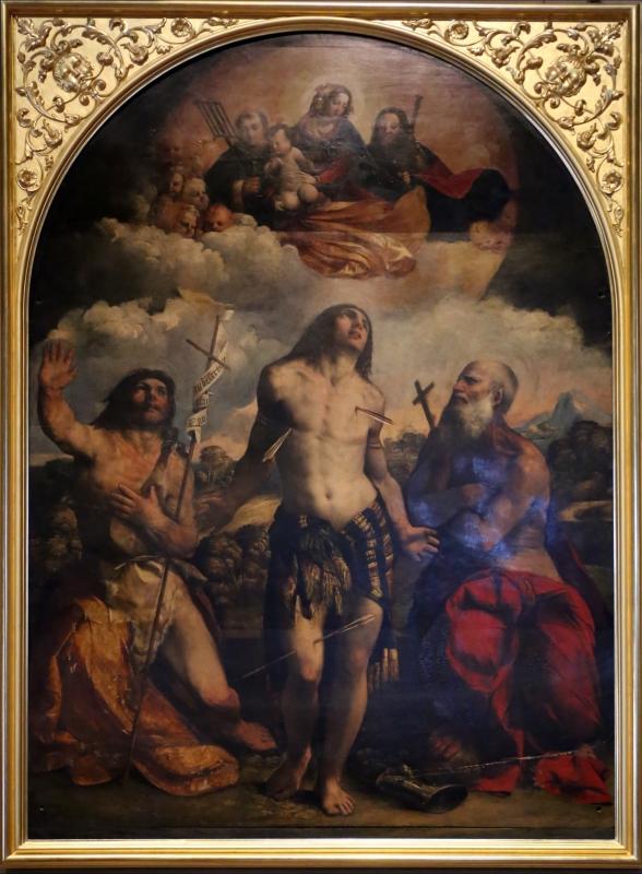 Dosso dossi, pala di san sebastiano, 1518-21 - Sailko - Modena (MO)