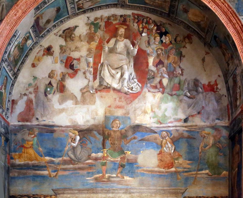 Artisti di scuola modenese, giudizio finale, finto polittico, profeti e santi, xv secolo, 03 - Sailko - Modena (MO)