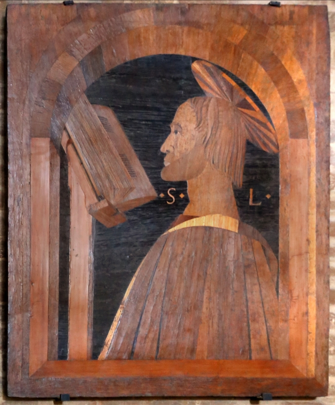 Cristoforo da lendinara, gli evangelisti, 1477, luca - Sailko - Modena (MO)